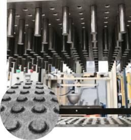Ennoblissement transformation textile