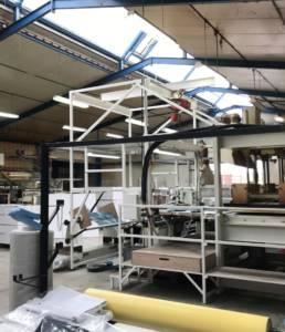 Fabrication textile 3D moule France
