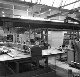 Modern textile factory Hauts-de-France