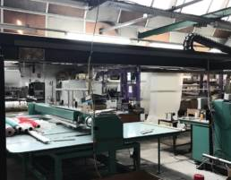 Quilting textile factory