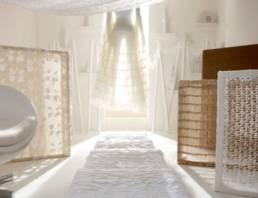 Thermoformage textile haute couture décoration