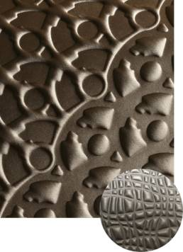 Thermoforming textile 3D creations